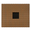 American Crafts - Patterned Album - 12 x 12 D-Ring - Woodgrain Chevron
