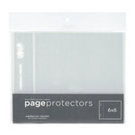 American Crafts - Page Protectors - 6 x 6 - 10 Pack