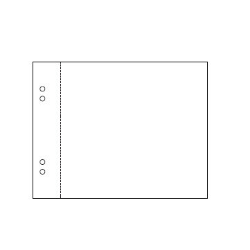 American Crafts - Page Protectors - 8 x 8 - 10 Pack