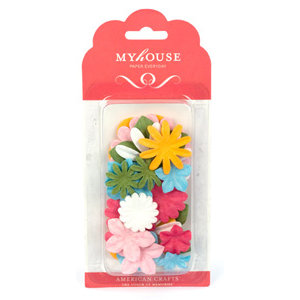 American Crafts - Myhouse - Everyday - Paper Flowers