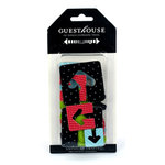American Crafts - Guesthouse - Travel - Patterned Chipboard Pieces