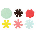 American Crafts - Dear Lizzy Spring Collection - SpringHouse - Paper Flowers