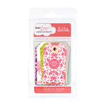 American Crafts - Dear Lizzy Enchanted Collection - Bits - Reinforced Tags, CLEARANCE