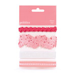 American Crafts - Pebbles - Ever After Collection - Ribbon