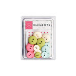 American Crafts - Buttons - Blue Skies, CLEARANCE