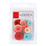 American Crafts - Love Collection - Buttons - Assorted