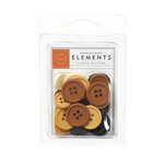American Crafts - Nightfall Collection - Halloween - Buttons