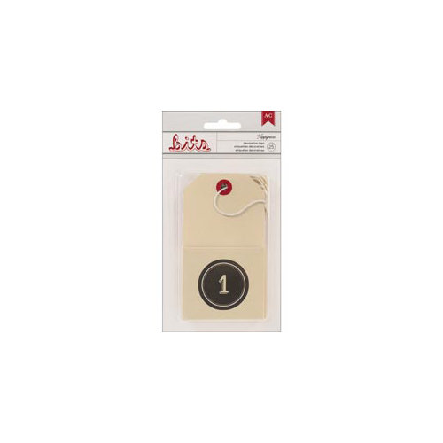 American Crafts - Kringle and Co. Collection - Bits - Envelope Tags - Nippynose