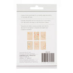 American Crafts - My Girl Collection - Bits - Printed Wood Veneer - Hopscotch