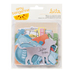 American Crafts - Amy Tangerine Collection - Yes, Please - Bits - Die Cut Cardstock Pieces - Create