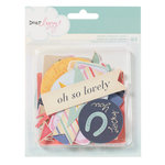 American Crafts - Dear Lizzy Lucky Charm Collection - Bits - Die Cut Cardstock Pieces
