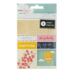 American Crafts - Dear Lizzy Lucky Charm Collection - Bits - Perforated Book