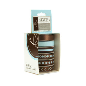 American Craft Elements - Elements Premium Ribbon - Duets - Martin