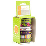 American Crafts - Celebration 2 Collection - Boxed Ribbon - Soiree, CLEARANCE