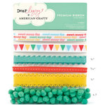 American Crafts - Dear Lizzy Spring Collection - Ribbon - Lively