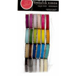 American Crafts - Ribbon Value Pack - 24 Spools - Solid Grosgrain - Color Set 1