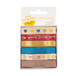 American Crafts - Amy Tangerine Collection - Ribbon - Enjoy