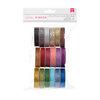American Crafts - Ribbon Value Pack - Glitter - 18 Spools