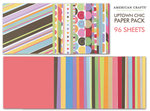 American Crafts - Simply Chic Collection - 12 x 12 Paper Pack - 96 Sheets