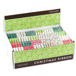 American Crafts - Ribbon Box Assortment - Winter 2008 - Christmas, CLEARANCE