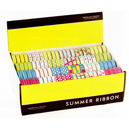 American Crafts - Ribbon Box Assortment - Summer 2009, CLEARANCE