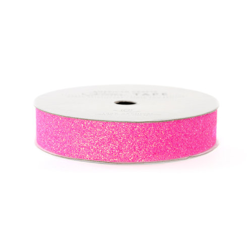 American Crafts - Glitter Tape - Begonia - 3 Yards