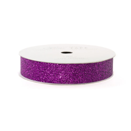 American Crafts - Glitter Tape - Grape - 3 Yards