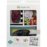 Becky Higgins - Project Life - Heidi Swapp Collection - Value Kit - Overlay and Slide Cards