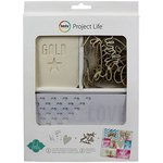 Becky Higgins - Project Life - Heidi Swapp Collection - Value Kit - Color Magic Watercolor and Canvas Cards