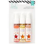 Heidi Swapp - Mixed Media Collection - Color Shine Iridescent Spritz - Set - Creamsicle