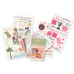 Anna Griffin - Rub On Transfers Kit - Friends Assortment, CLEARANCE