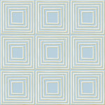 Anna Griffin - Calisto Collection - 12 x 12 Paper - Blue Squares, CLEARANCE