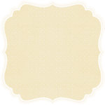 Anna Griffin - Calisto Collection - 12 x 12 Die Cut Paper - Ivory, CLEARANCE