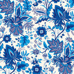 Anna Griffin - Willow Collection - 12 x 12 Paper - Toile de Jouy - Blue
