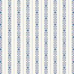 Anna Griffin - Willow Collection - 12 x 12 Paper - Stripe Blue