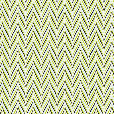 Anna Griffin - Fifi and Fido Collection - 12 x 12 Flocked Paper - Herringbone - Green and Blue