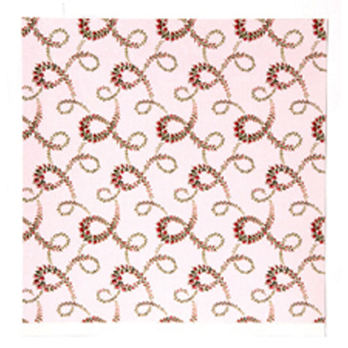 Anna Griffin - Camilla Collection - 12 x 12 Double Sided Paper - Floral Vines