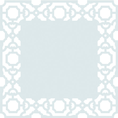 Anna Griffin - Eleanor Collection - 12 x 12 Die Cut Paper Layers - White