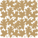Anna Griffin - Battastic Collection - Halloween - 12 x 12 Die Cut Paper - Leaves