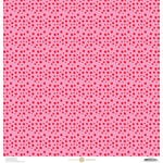 Anna Griffin - Best In Show Collection - 12 x 12 Paper - Spots Pink
