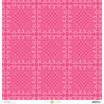 Anna Griffin - Juliet Collection - 12 x 12 Paper - Circles - Hot Pink
