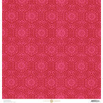 Anna Griffin - Juliet Collection - 12 x 12 Paper - Lace - Hot Pink