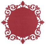 Anna Griffin - Juliet Collection - 12 x 12 Die Cut Paper - Ornate Frame - Red
