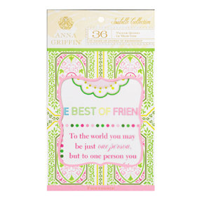 Anna Griffin - Isabelle Collection - Vellum Quote Pad, CLEARANCE