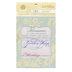 Anna Griffin - Cecile Collection - Vellum Quote Pad, CLEARANCE