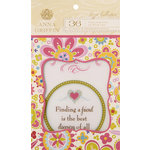 Anna Griffin - Lizzie Collection - Vellum Quote Pad