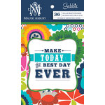 Anna Griffin - Gabbie Collection - Vellum Quote Stickers
