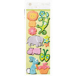 Anna Griffin - Riley Collection - 3 Dimensional Glitter Stickers - Icon, CLEARANCE