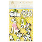 Anna Griffin - Fifi and Fido Collection - Glittered 3 Dimensional Cardstock Stickers - Dogs