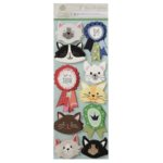 Anna Griffin - Best In Show Collection - 3 Dimensional Stickers - Art - Cats